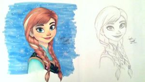 Anna Colored (Updated) by angelaaasketches