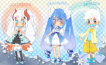 Pokemon Puella 6th Batch{paypal}{closed} by Hacuubii