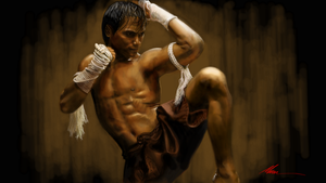 Tony Jaa ONG-BAK by AM4Y786