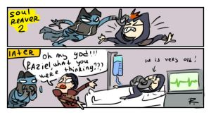 Legacy of Kain, doodles 52 by Ayej