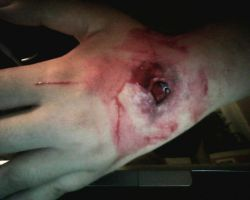 Model of stab wound SFX by mintpool
