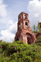 Ruins of a church stock #4 by croicroga