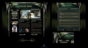 Army Web Template Skin by karsten
