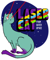 Laser Cat From Outer Space by Dese-M