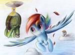 We'll soar the skys forever by Camyllea