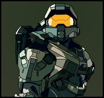 Master Chief Icon by malde37