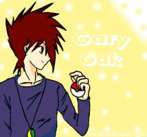 Pokemon - Gary Oak by Shasha-nekogirl
