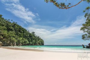 Beautiful beach Papua by marchcell