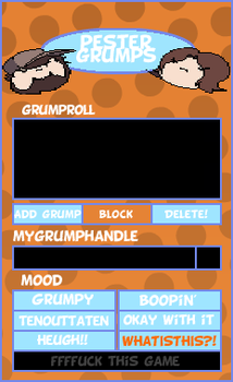 PesterGrumps preview. by Superfreaky228