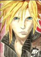 Cloud Strife by Cleopatrawolf