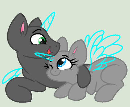 Base 106: Cutiepies snuggling by MADZbases