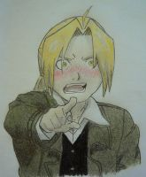 Edward Elric Brotherhood by HaGaNeCHiD