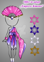 (closed) offer to adopt - Empress Kimono by CherrysDesigns