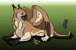 Griffin by TheMysticWolf