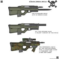 PIRATE RIFLE O'SAN CREW by ZiWeS