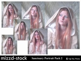 Sanctuary Portrait Pack 2 by mizzd-stock