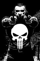 The Punisher - Ink by kewber