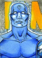 Dr Manhattan PSC Watchmen 4of6 by RichardCox