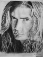 Dave Mustaine - Megadeth by MetDeth