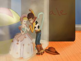Goodbye Sheriff Woody by realmkeyblade