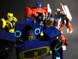 The Autobots must be destroyed by Tformer