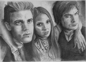 The Vampire Diaries by X-TeO-X