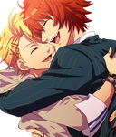 Shou+Otoya_Render by RisaSenpaiRender