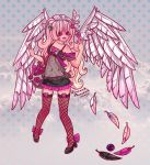 Kawaii Winged Angel by Bunneahmunkeah