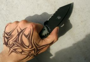 New Knife by mattioli13