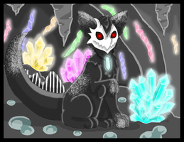 Ivan in the Crystal Cave by Lazarian96