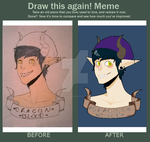 Draw It Again - Dragon Blood by WolfStrawberryEater