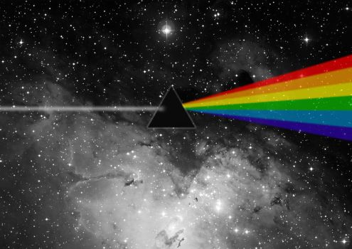 Dark side of the moon by itzthedave
