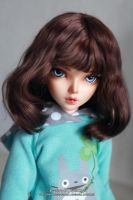 Bjd wig from angora mohair by Kimirra-bjd
