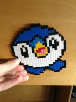 Piplup Pokemon Hama/Perler Bead Pattern by MattisamazingPS