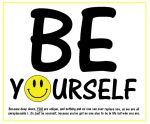 Be Yourself by DoctorWhoOne