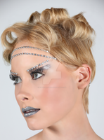 High-Fashion Makeup and Hair by funkynat2003