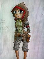Talwyn Apogee first Sketch-Outfit by AmandatheLombax