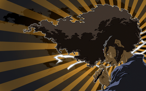 anova afro samurai wallpaper by beanhead2007