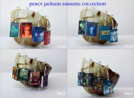 Percy Jackson Earrings Set NEW by maryfaithpeace