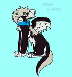 White Shinobi by Wolfsie