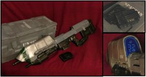 HALO Assault rifle, nerf by Sam-Castle
