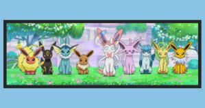 The Eevee family by Froodals