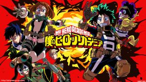 Boku no Hero Academia Wallpaper HD Anime by corphish2