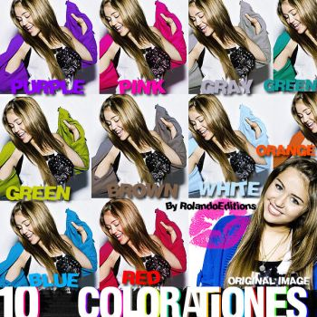 paCk 10 Colorationes ACTION by RolandoEditions