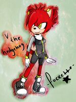 V the hedgehog by Fockette