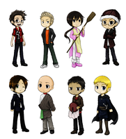 Hetalia Chibi Set No. 6 by SiriEx