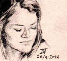 Day 48 - Sarah Manning by Izzy95