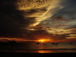 Sunset Costa Rica by Marco2995