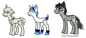 new ponies ocs first two need names by webkinzfun8