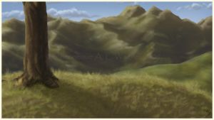Mountain View - background by chenneoue